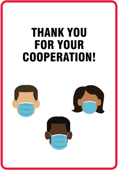 Thank you for your cooperation!